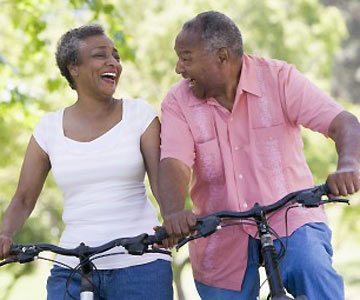 Tips for Anti-Aging - Happy Couple Exercising