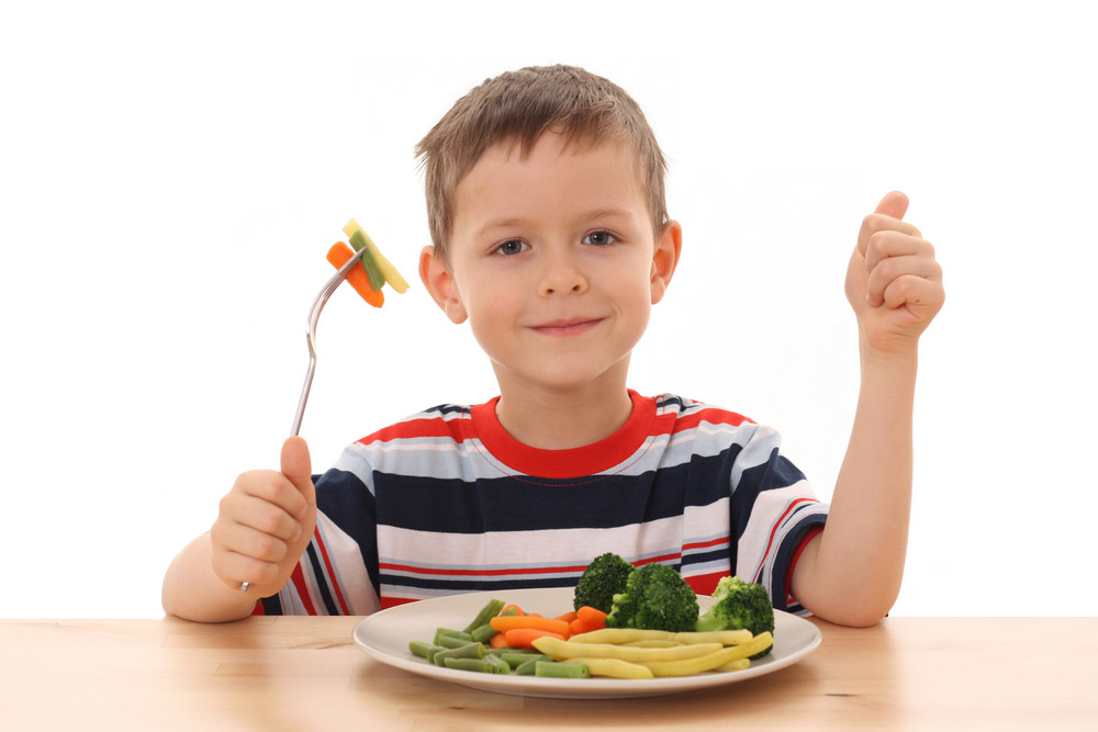 Want your children to eat healthy foods? create a nutritional home