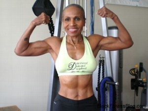 Oldest Female Bodybuilder in The World