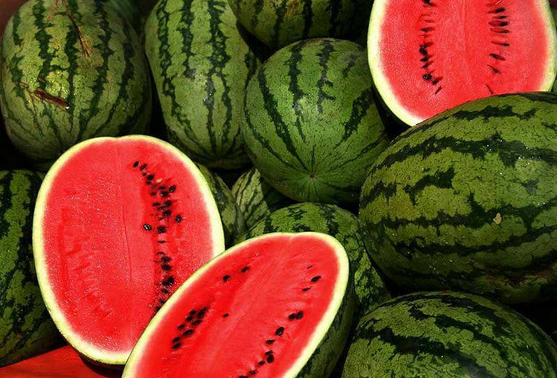Vitamins in watermelon